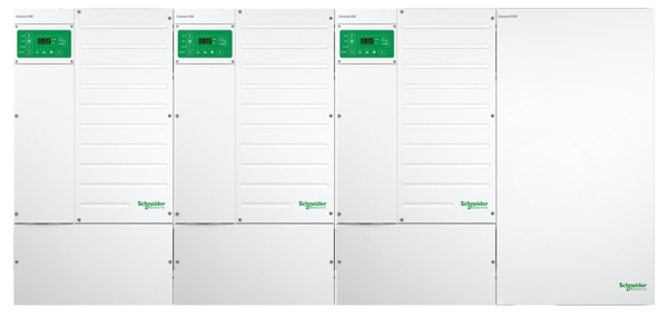 XW Power Distribution Panel (without AC Breakers)